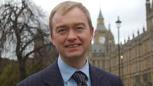 TIM FARRON leader of Lib Dem's